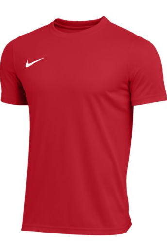 Nike polyester red jersey