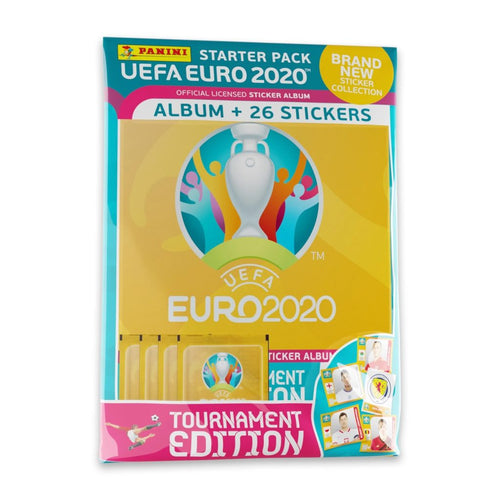 2020 PANINI EURO TOURNAMENT EDITION STICKERS – STARTER PACK