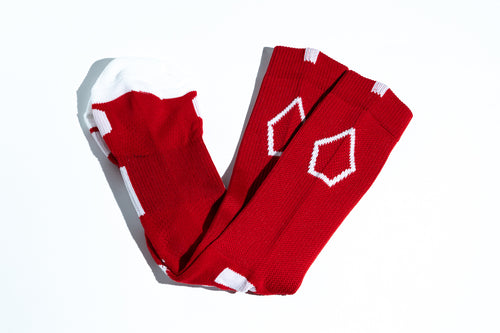 Pentagon Crew Socks - Red
