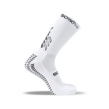 Side view picture of the grip crew socks from the Italian brand SOXPro
