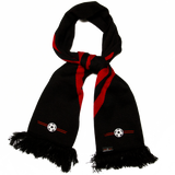 LBF Touchline Scarf, Black & Red