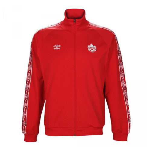 Umbro Canada Presentation Jacket 2015 Red