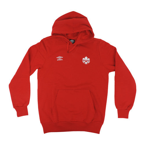 Umbro Canada Fleece Hoody Red