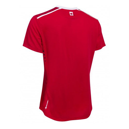 Umbro Canada Home Soccer Jersey 2015, Red, Back