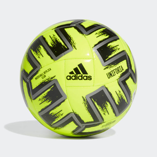 Adidas Uniforia Euro 2020 Club Soccer Ball - Yellow