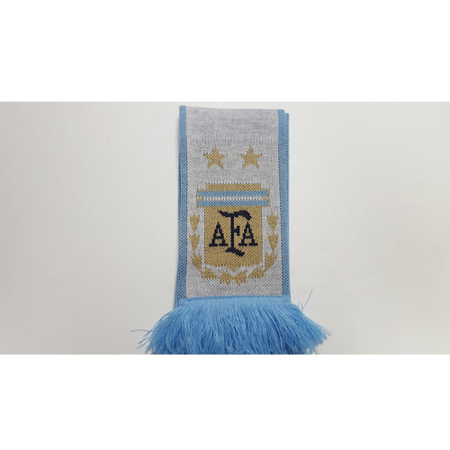 Adidas Argentina World Cup 2018 Scarf, Sky Blue & White
