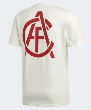 Arsenal FC Street Graphic T-Shirt 19/20, White, Back