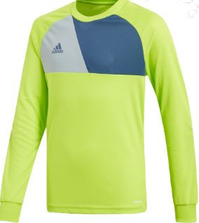Kids Adidas Assista 17 Goalkeeper Jersey - Lime