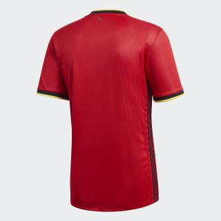 Adidas Belgium Euro 2020 Home Soccer Jersey, Back View