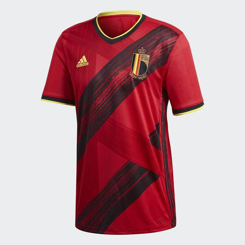 Adidas Belgium Euro 2020 Home Soccer Jersey, Front View
