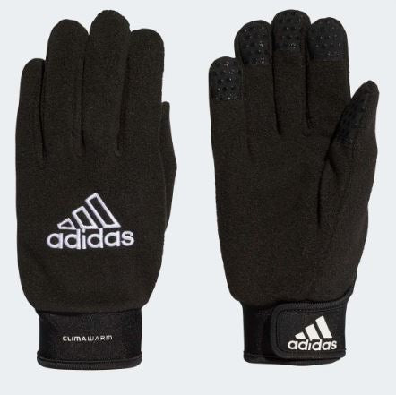 Adidas Field Player Gloves, Black