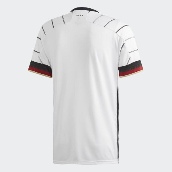 Adidas Germany Euro 2020 Home Soccer Jersey, Back View