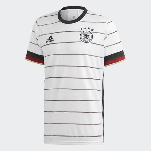 Adidas Germany Euro 2020 Home Soccer Jersey, Front View