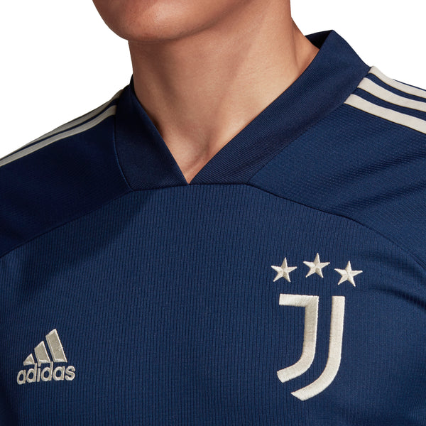 Juventus Away Soccer Jersey 20/21, Adult, Chest View