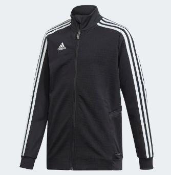 Adidas Youth Tiro19 Training Jacket, Black