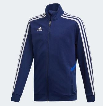 Adidas Youth Tiro19 Training Jacket, Navy