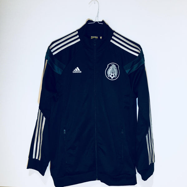 Adidas Mexico Anthem Jacket, Long Sleeve, Black