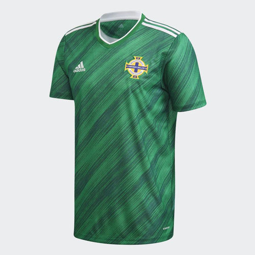 Adidas Northern Ireland Euro 2020 Home Soccer Jersey, Front