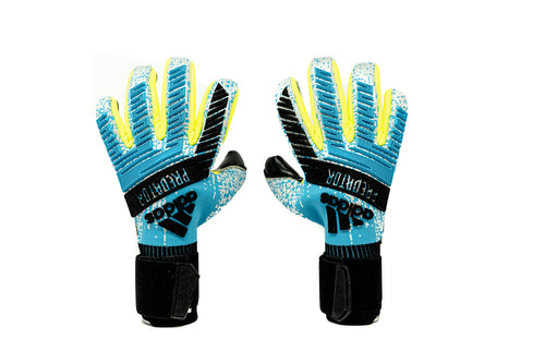 Adidas Predator Pro Goalkeeper Gloves, Blue, Negative Cut