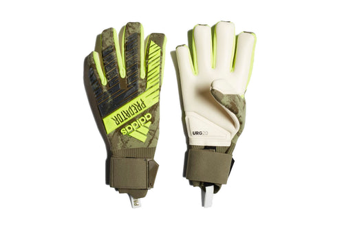 Adidas Predator Pro Goalkeeper Gloves, Forest Green