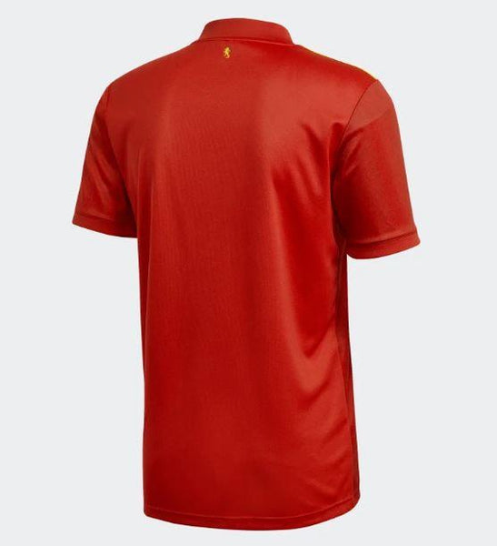 Adidas Spain Euro 2020 Home Soccer Jersey, Back View