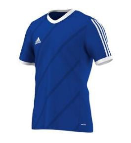 Adidas Tabela 14 Soccer Jersey, Blue