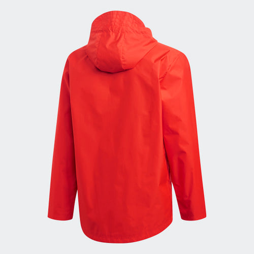 Adidas Tango Windbreaker, Red, Back View