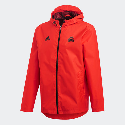 Adidas Tango Windbreaker, Red, Front View