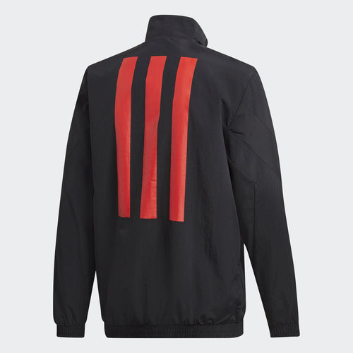 Adidas Tango Woven Jacket, Black, Back View