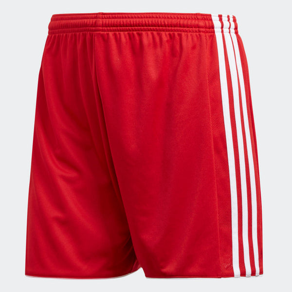Adidas Tastigo 17 Soccer Shorts, Red