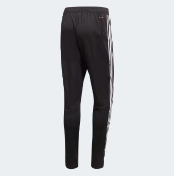 Adidas Men's Tiro19 Training Pants, Black & White, Back View