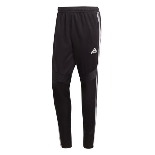 Adidas Men's Tiro19 Training Pants, Black & White, Front View