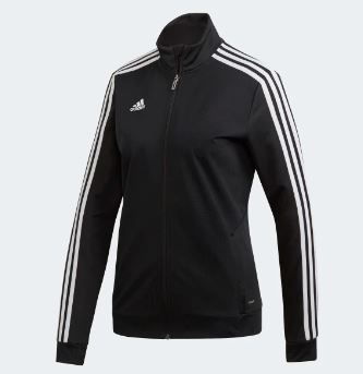 Adidas Women's Tiro19 Training Jacket, Black
