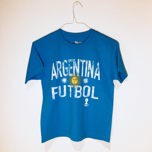 Argentina World Cup Youth T-Shirt - 2014 Edition
