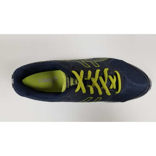 Asics Gel-Envigor, Navy/Green, Aerial View