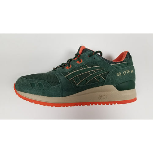 Asics Gel-Lyte III, Green. Side View