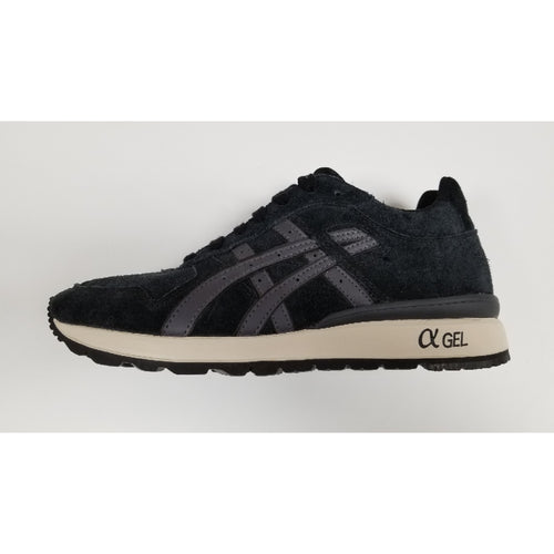 Asics GT-II, Black & Charcoal, Side View
