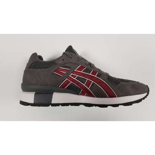 Asics GT-II, Grey & Burgundy, Side View