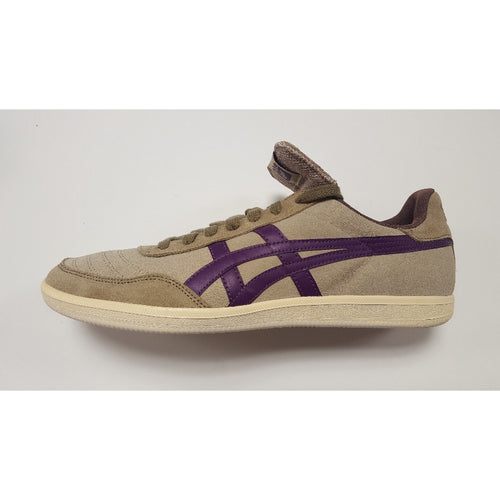 Asics Hulse, Beige & Purple, Side View