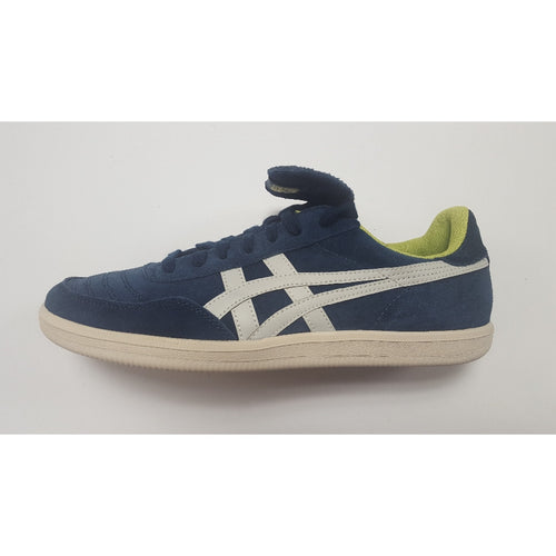 Asics Hulse, Navy & Green, Side View