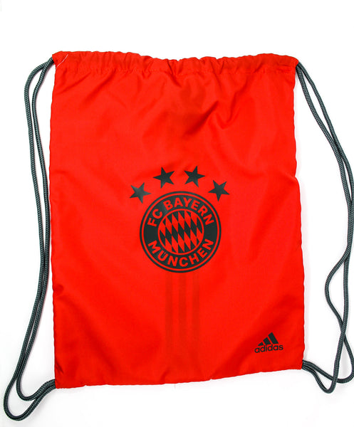 Bayern Munich String Bag, Red, Front View