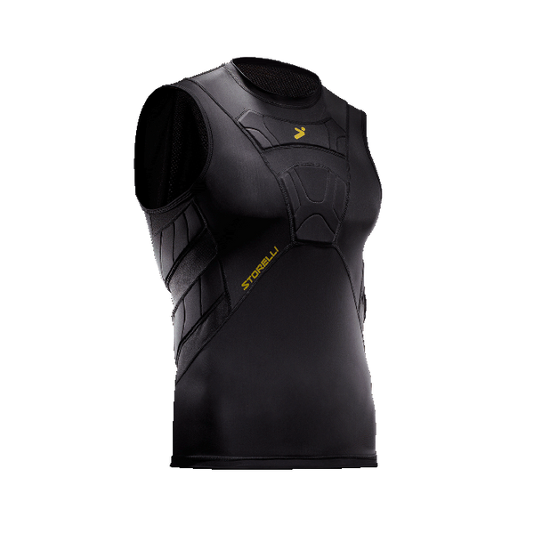 Storelli BodyShield Field Player Sleeveless Black Undershirt