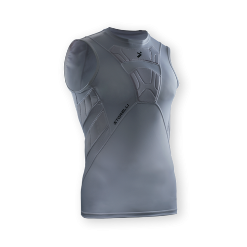 Storelli BodyShield Field Player Sleeveless White Undershirt