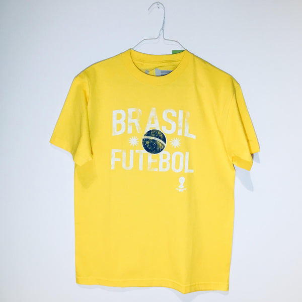Brazil World Cup 2014 T-Shirt, Yellow