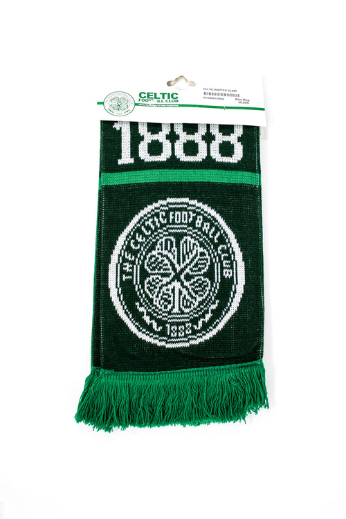 Celtic Club Scarf, Black & Green