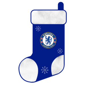 Chelsea Club Christmas Stocking, Blue & White