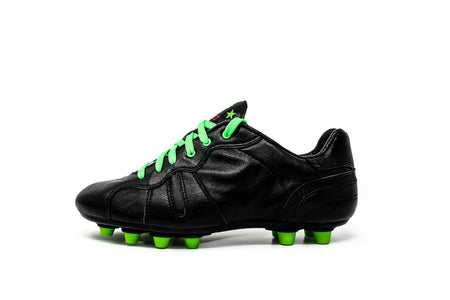 Akuna Cinquestelle Toro Special Edition FG Soccer Cleat - Black/Green