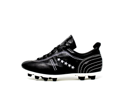 Akuna Cinquestelle Colibri HG Soccer Cleat - Black