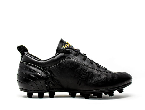Akuna Cinquestelle Colibri HG Soccer Cleats, Calf Leather, 19 Conical Studs, Side View