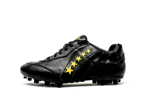 Akuna Cinquestelle Squalo AG Soccer Cleat - Black